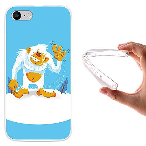 WoowCase Hülle Case für [ iPhone 7 ] Handy Cover Schutzhülle Yeti
