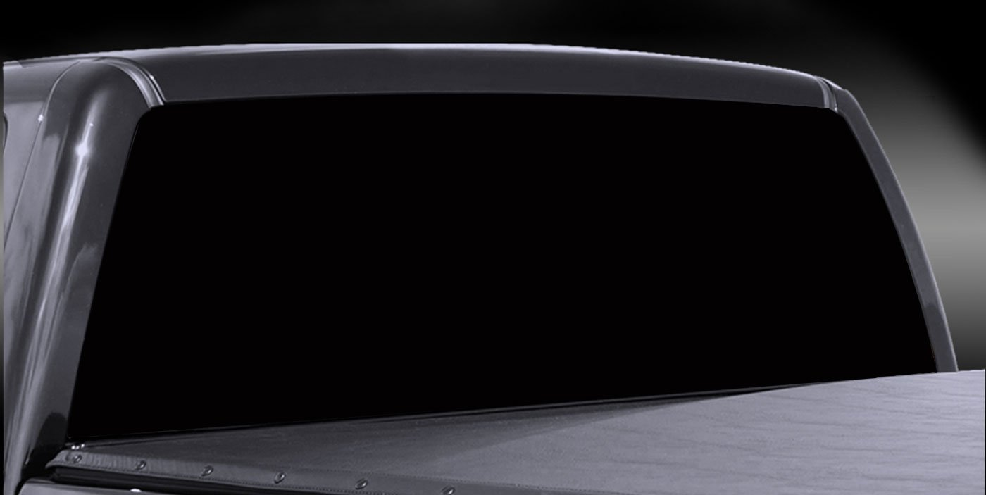 Amazon com vuscapes 747 sza deep dark black rear window truck graphic decal suv view thru vinyl automotive