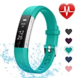 LETSCOM Fitness Tracker with Heart Rate Monitor, Slim and Smart Activity Tracker Watch