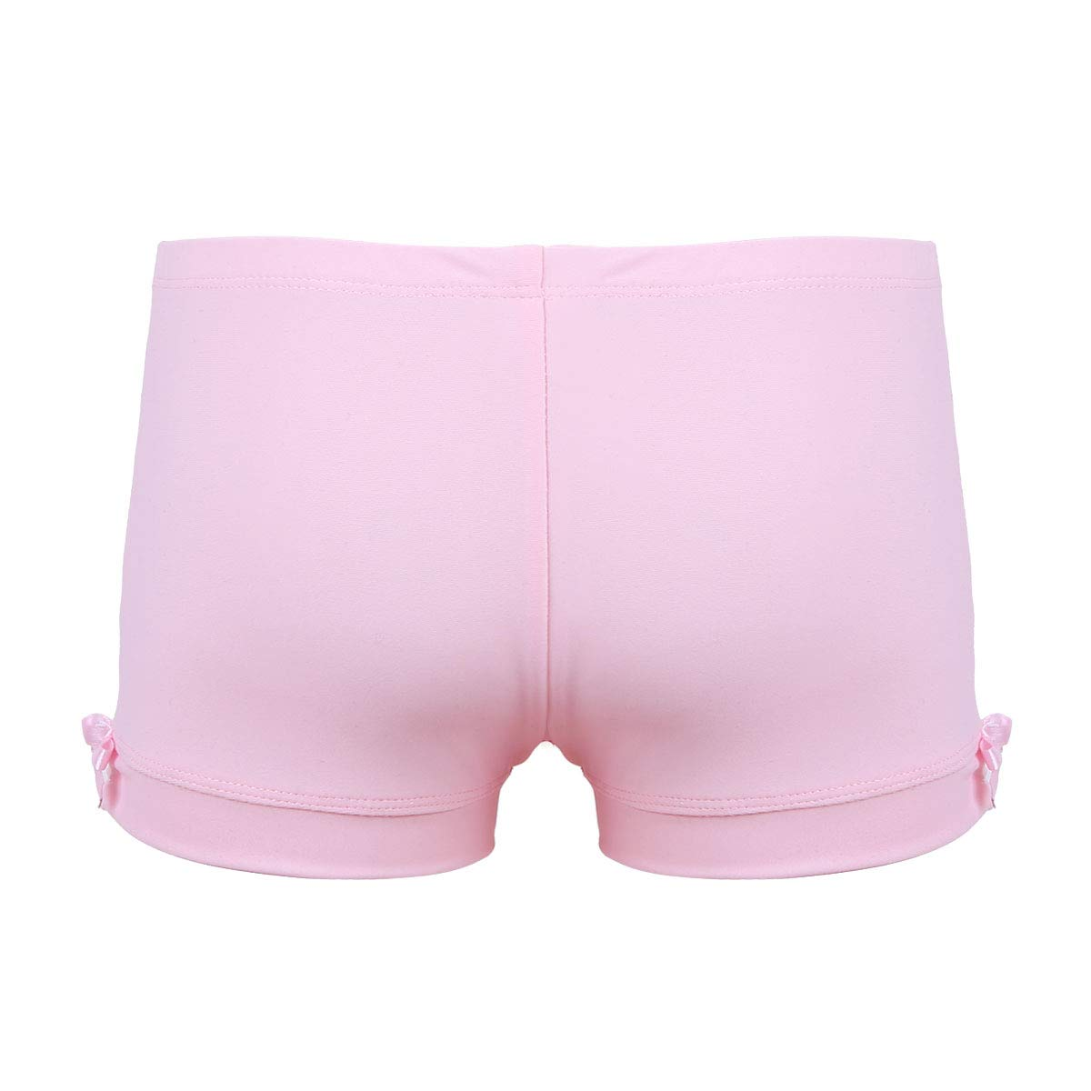 Agoky Kids Girls Gymnastics Workout Yoga Athletic Sports Training Bike Short Pink Boy-Cut 3 by Agoky (Image #3)