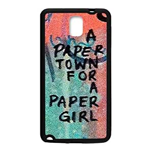 a paere town for a paper girl Phone Case for Samsung Galaxy Note3 Case by mcsharks