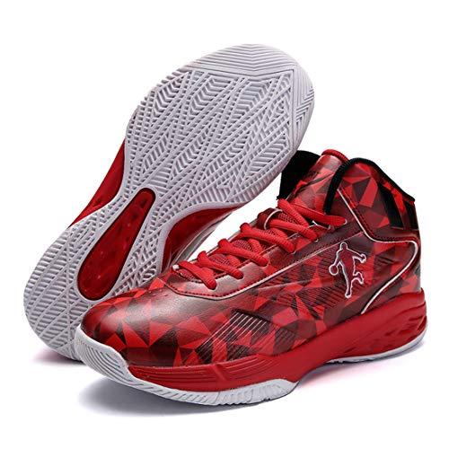 dérapage Marche Dandanjie Baskets Basket Anti Outdoor Hommes Sport De Chaussures Red Respirant 4qTnvRg4