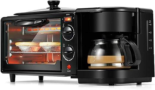JKDKK Horno Electrodomésticos 3 En 1 Máquina Para Hacer Desayuno ...