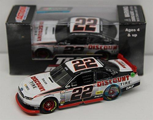Lionel Racing CX25865M5BW Brad Keselowski # 2 Miller Lite 2015 Ford Fusion 1:64 Scale ARC HT Official NASCAR Diecast Car ()