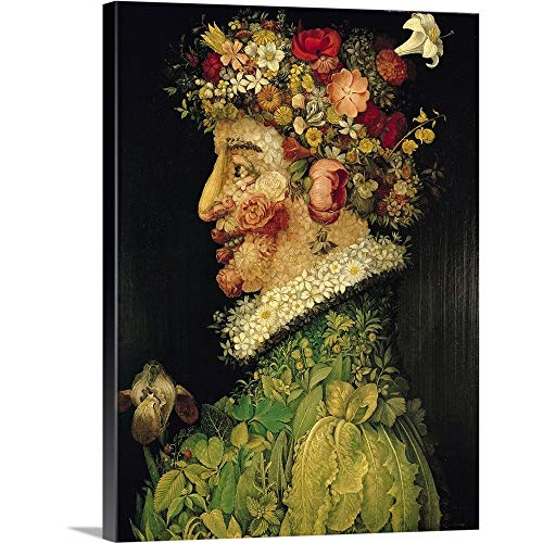 - GREATBIGCANVAS Gallery-Wrapped Canvas Entitled Spring, by Giuseppe Arcimboldo 30