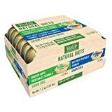 VitaLife Natural Diets Wet Dog Food for Small Dogs - Variety Pack of 6X Chicken with Vegetables and 6X Beef with Vegetables, 100 g portions
