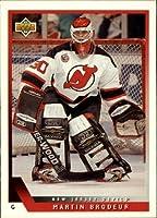 1993 Upper Deck Hockey Card (1993-94) #334 Martin Brodeur Near Mint/Mint