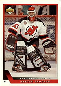 1993 Upper Deck Hockey Card (1993-94) #334 Martin Brodeur Near Mint/Mint