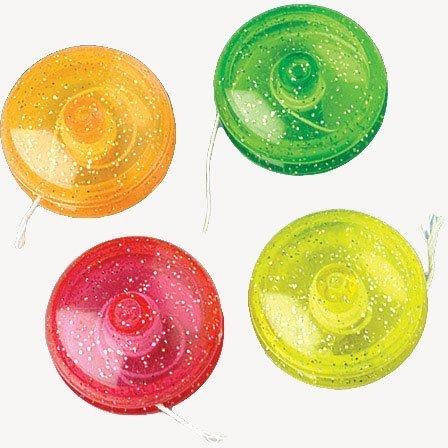 Mini Glitter Yo-Yos
