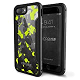 Defense Shield combines hard polycarbonate, soft rubber and anodized aluminum to form the ultimate in protection for your iPhone. The use of machined metal instead of plastic provides military-level drop protection in a slim, pocketable and premium o...