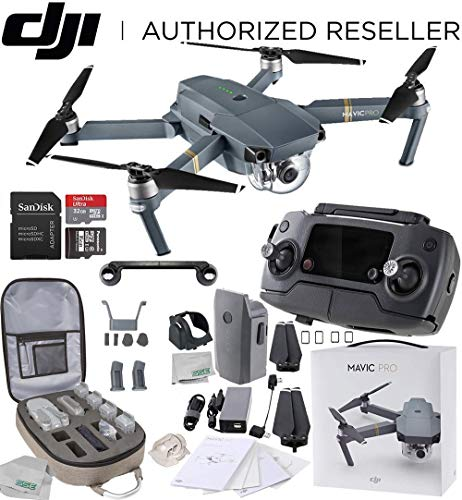 DJI Mavic Pro Collapsible Quadcopter Starters Backpack ()