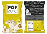 Pop Zero Guilt Free Cinema Popcorn Bulk Party Packs - 7 Large Bags ( 6 oz each) of Movie Theater Butter and Salt Flavored Gourmet Popcorn - Light and Healthy Non GMO Air Popped Kernels …
