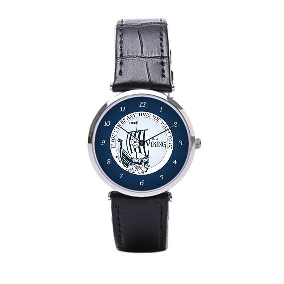 Sueño etapa Leif Erikson barato Relojes de pulsera. Quiero Ser Piel Reloj para hombre