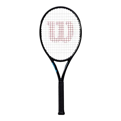 8d13e801f Image Unavailable. Image not available for. Color  Wilson Ultra 100  Countervail Black Tennis Racquet ...