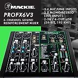 Mackie ProFX6v3 6-Channel Professional Sound