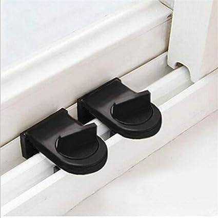 Mondeer Cerradura de seguridad para niños, No necesita instalación, Cerradura de puerta diseñada para puertas correderas (1pc): Amazon.es: Bebé