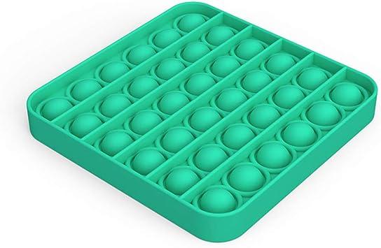 4 PCS Apple Pop Bubble Sensory Fidget Toys Autism Special Needs Stress Reliever Toy,Squeeze Sensory Toy