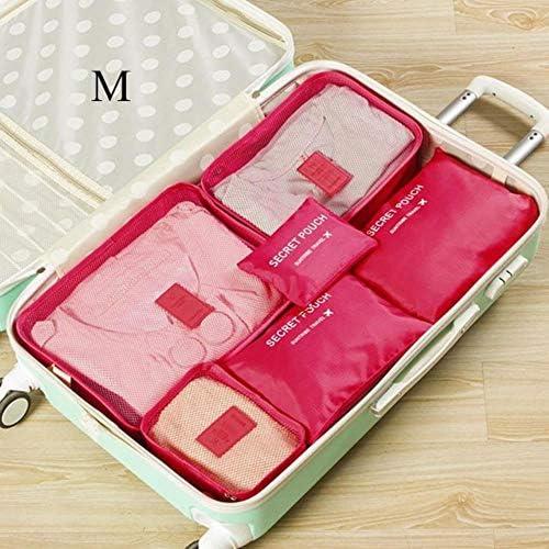 CCMOO 5 stücke Reise Aufbewahrungstasche Koffer Closet Divider Container Kleidung Schuhe Ordentlich Verpackung Würfel Gepäck Organizer Pouch, 15