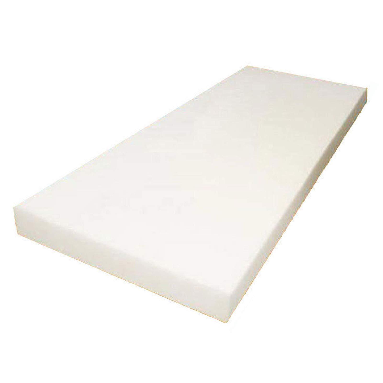 Mybecca High Density Firm Seat Replacement, Upholstery Sheet Foam Padding,6'' H, 24'' W, 72'' L by Mybecca