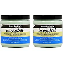 """Aunt Jackie's In Control Moisturizing & Softening Conditioner 15oz """"Pack of 3"""""""