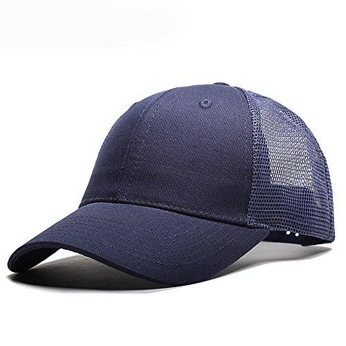 SLGJ Gorra para Hombre Invierno Sombreros Sombreros Trucker Cap Mesh Cap Gorra De Béisbol