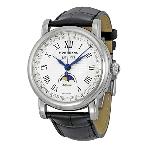 Montblanc-Automatic-Moonphase-Stainless-Steel-Mens-Watch-108736