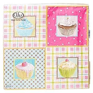 Little Cupcakes Disposable Napkins