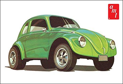 AMT 1044 Volkswagen Beetle Superbug Gasser 1:25 Scale Plastic Model Kit - Requires Assembly (25 Model Plastic Scale)