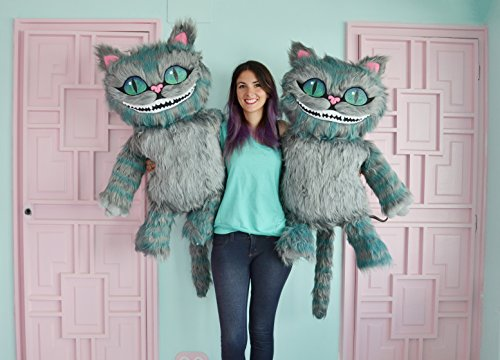 Cheshire cat's soft toy with all the details. Really big!