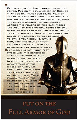 Armor Inspirational Christian (Armor Of God Poster)