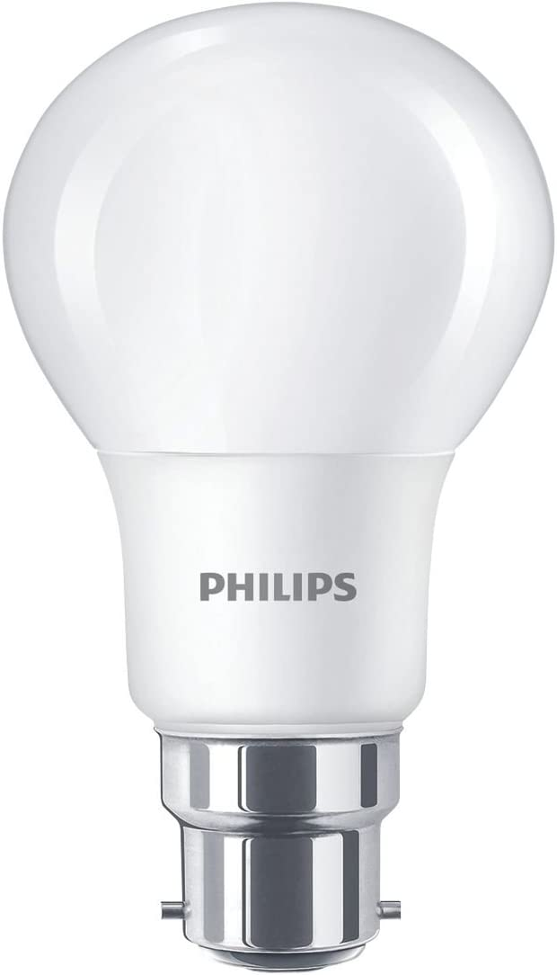 Philips LED GLS Lamps Warm White BC 8.5W 6 Pack: Amazon.co