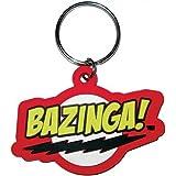 Big Bang Theory - Bazinga - Gummi Schlüsselanhänger - Grösse ca. 5 cm
