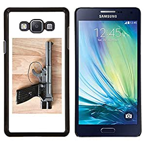 Queen Pattern - FOR Samsung Galaxy A7 - Nature Beautiful Forrest Green 8 - Cubierta del caso de impacto con el patr???¡¯???€????€?????n Ar
