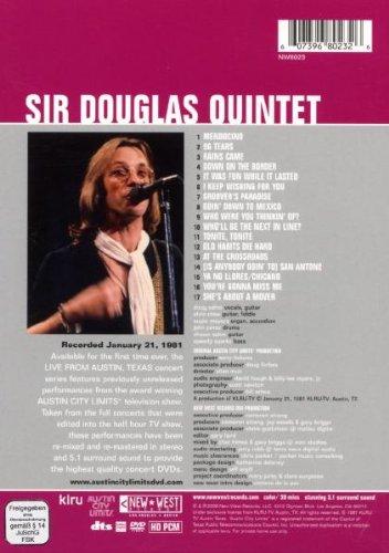 Sir Douglas quintet  : Live from Austin, Texas (1981)