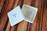 Personalized Baptism Gift or First Communion Gift - Square Keepsake Box - Comes with a Gift Box