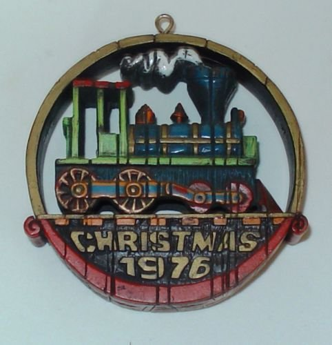 1976 Nostalgic Locomotive Hallmark Ornament Rare! ()