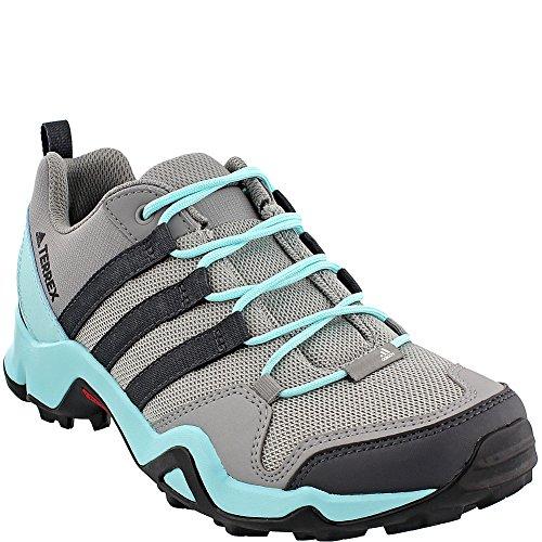Adidas Utendørs Terrex Ax2r Hikingsko - Womens Ch Solid Grå / Dgh Solid Grå / Klart Aqua, 9.5
