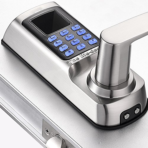 Harfo Hl20 Keyless Keypad Door Lock With Fingerprint