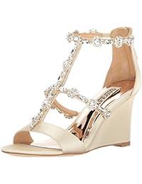 Wedge Heel Wedding Shoes