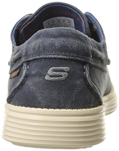 Herren Sneaker Skechers Blau nbsp;Melec Status Nvy d0ttqP