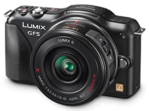 "Panasonic DMC-GF5XEC - Cámara réflex digital de 12 Mp (pantalla de 3"") color negro"