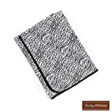 Baby Milano - Zebra Print Baby Blanket