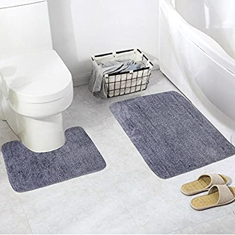 Pauwer Bath Rug Set 2 Pieces Bathroom Rugs (19.7