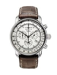Zeppelin Chronograph/ Alarm Watch 7680-1 (Brown)
