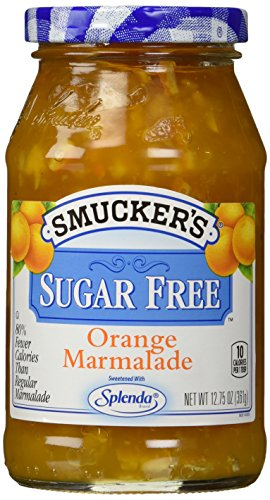 (Smuckers SUGAR FREE ORANGE MARMALADE, 12.75)