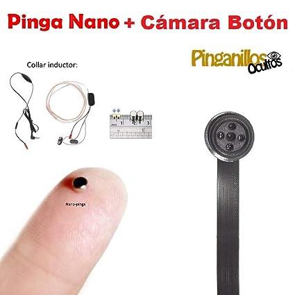 Pinga Nano + Cámara Botón Espía WiFi