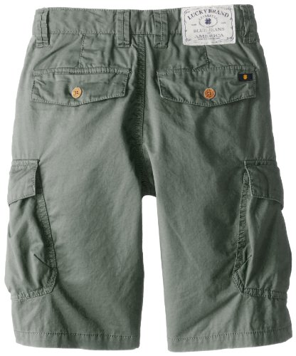 Lucky Brand Boys 8-20 Pham Cargo, Sea Spray, 16