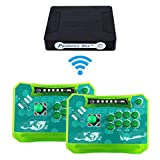 Wisamic Pandora Box 4S Plus 815 in 1 Game Console with Wireless Arcade Sticks Controller Jamma Game Board Joystick Arcade Control Panel Support XBOX360 PS3 PC TV