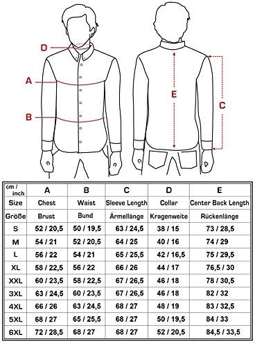 6xl 205 À Combinaison Chemise Fit Taille Jeel Loisirs Longues Rose Basic Slim Business S Manches Mariage FO6fqwxfT