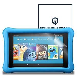 6X - Spartan Shield Premium HD Screen Protector For Amazon Fire HD 8 Kid's Edition (2017) - 6X